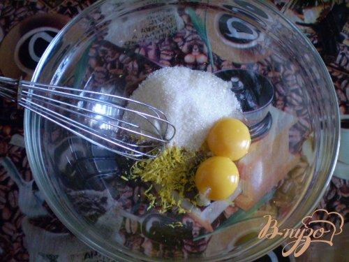 Оладьи молочные с лимоном