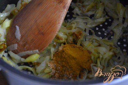 Чечевичный суп-пюре карри