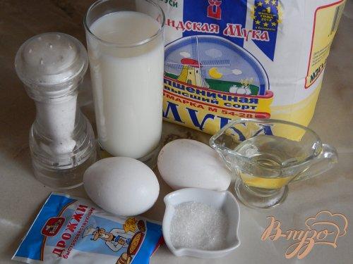 Молочный хлеб на куриных яйцах
