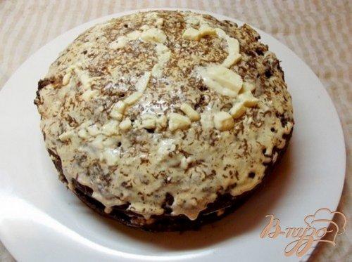 Шоколадный кекс с сухофруктами