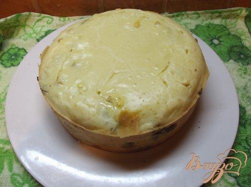 Пирог с печенью и сердечками
