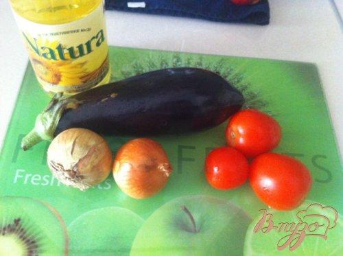 Салат из баклажанов.