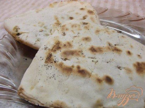 Пресные лепешки с сыром