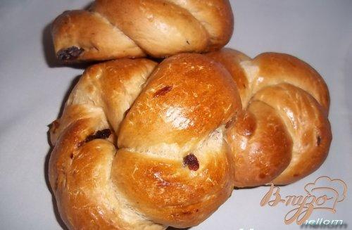 Кофейные булочки с изюмом