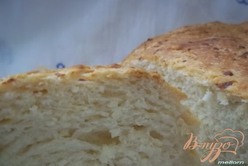 Творожно-сырная булка