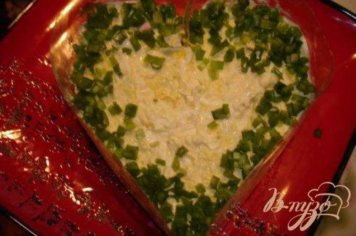 Салат к дню Святого Валентина