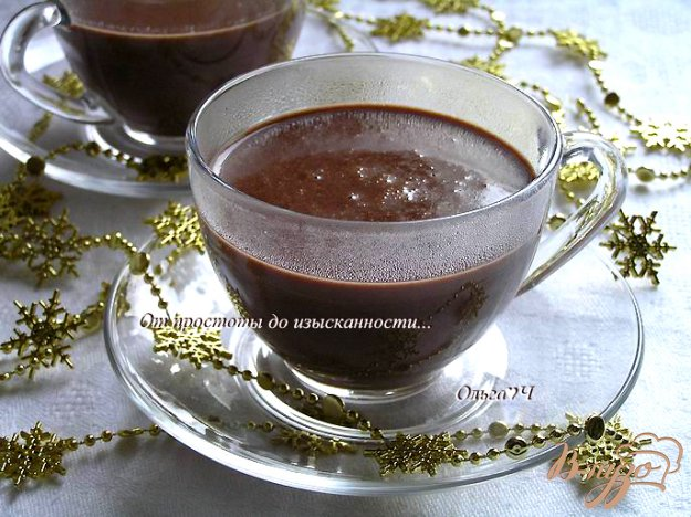 фото рецепта: Горячий шоколад