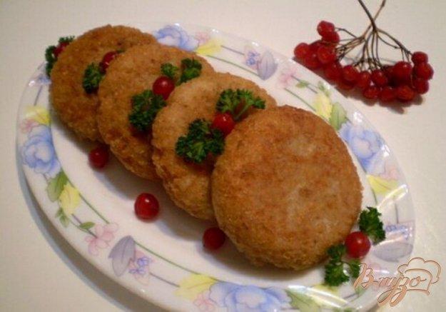 Рецепт Перловые котлеты с луком