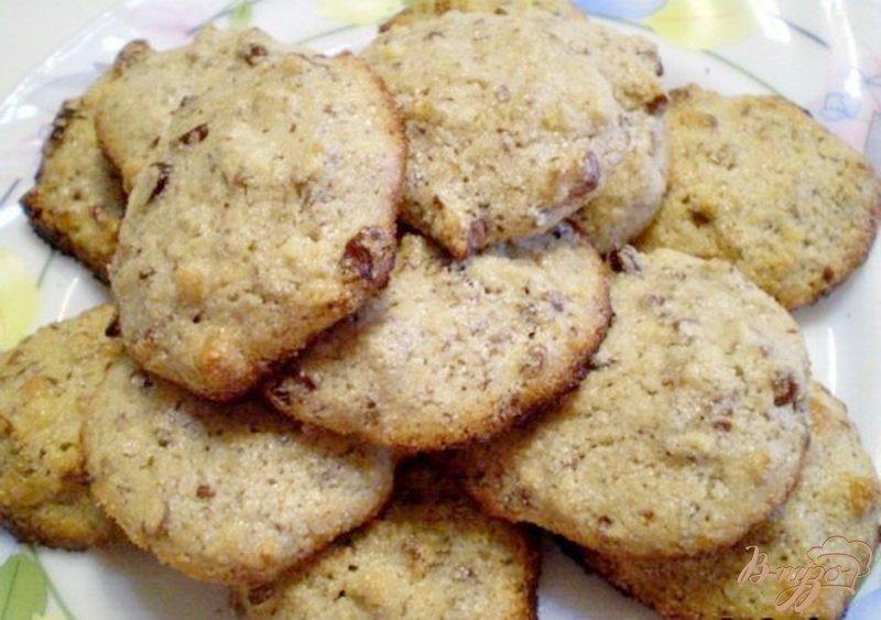 Фото приготовление рецепта: Печенье без муки шаг №6