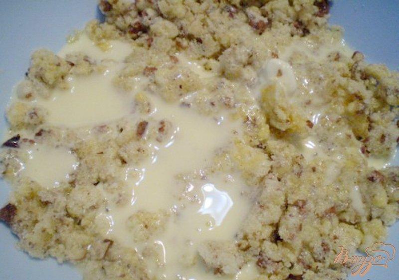 Фото приготовление рецепта: Печенье без муки шаг №3