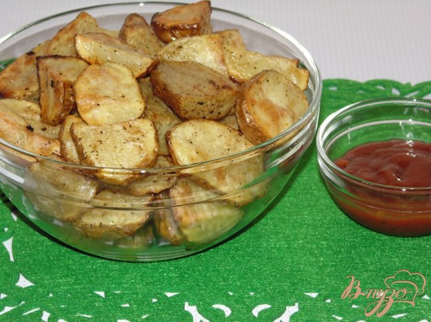 Запечена картопля зі спеціями. Як приготувати з фото
