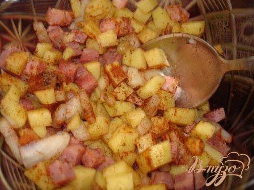 Фото приготовление рецепта: Кафтанчики с картошкой шаг №4