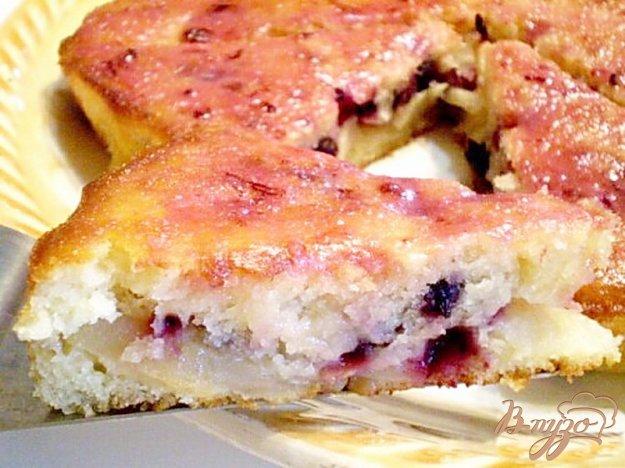 Рецепт Пирог кефирный с фруктами