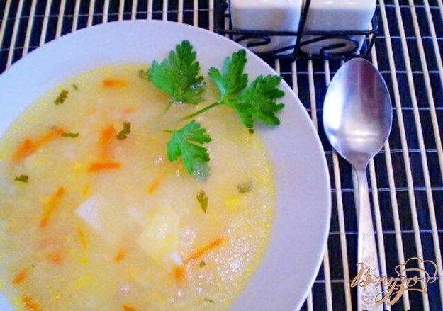 фото рецепта: Рисовый суп с икрой карася