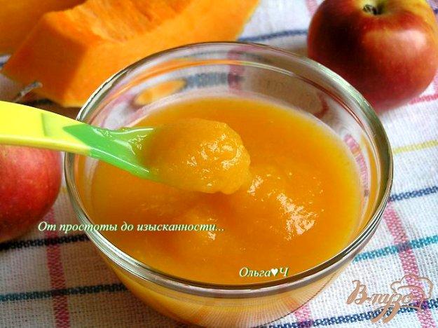 Рецепт Тыквенно-яблочное пюре