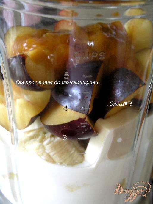 Фото приготовление рецепта: Фруктовый тофу-смузи с абрикосовым конфитюром шаг №1