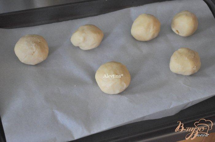 Фото приготовление рецепта: Печенье ванильное шаг №2