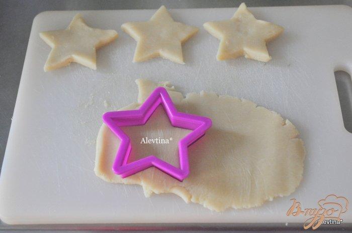 Фото приготовление рецепта: Печенье ванильное шаг №3