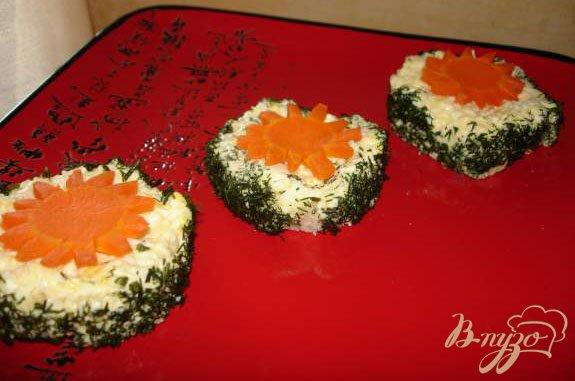 Фото приготовление рецепта: Бутербоды (канапе) с сельдью шаг №3