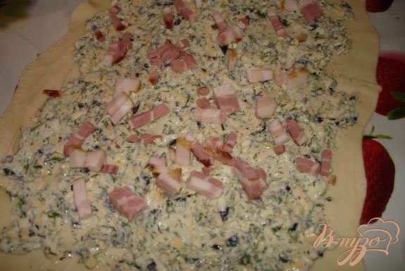 Фото приготовление рецепта: Сырные плюшки к борщу шаг №3