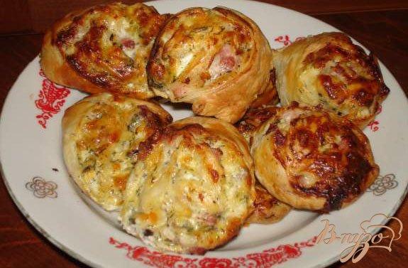 Фото приготовление рецепта: Сырные плюшки к борщу шаг №5