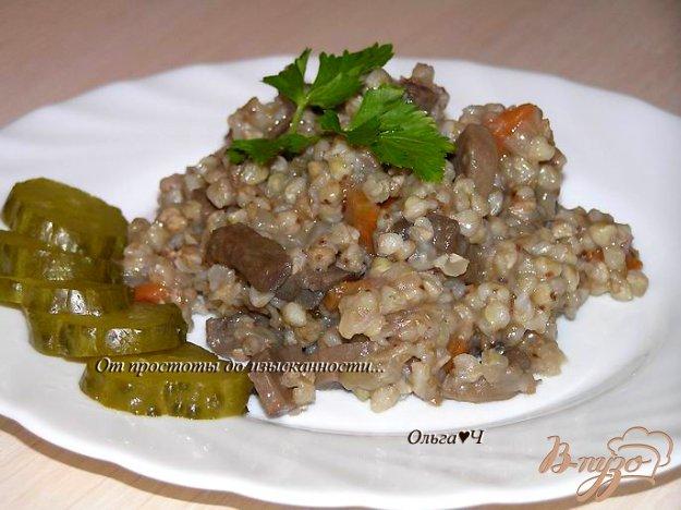 Рецепт Гречотто с грибами