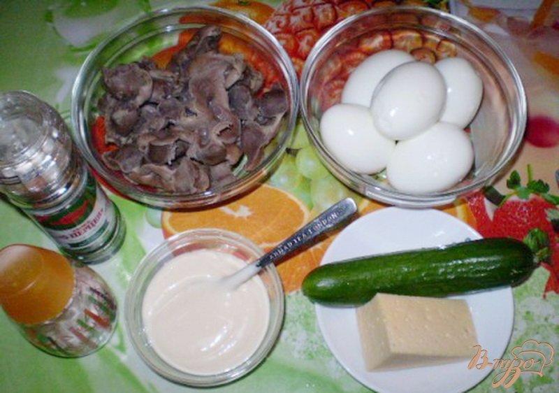 Фото приготовление рецепта: Салат из куриных желудков шаг №1
