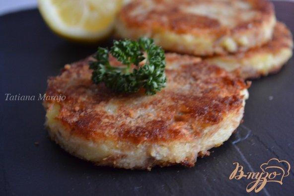 Рецепт Картофельные биточки с тунцом