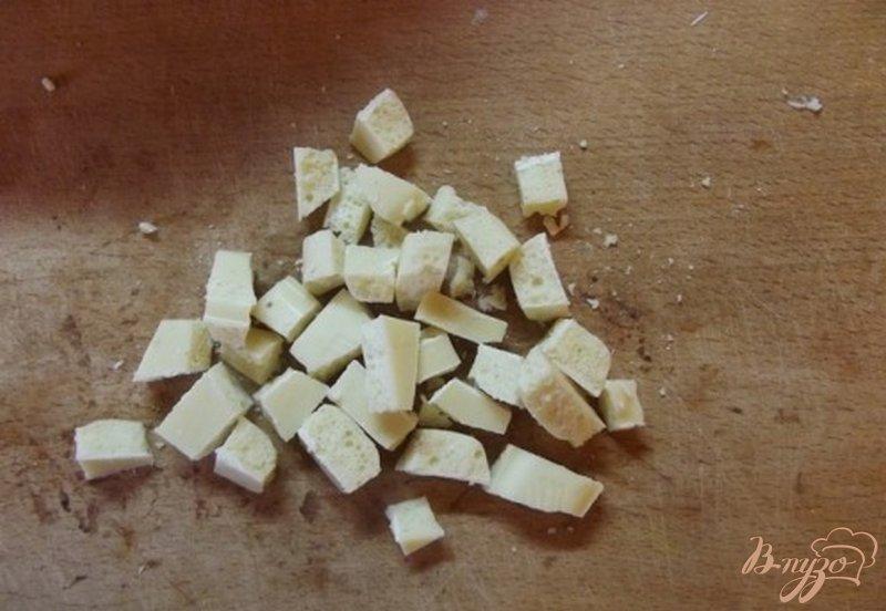 Фото приготовление рецепта: Блонди с вишней шаг №5