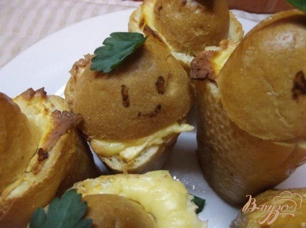 Рецепт Закусочные пенечки с грибами