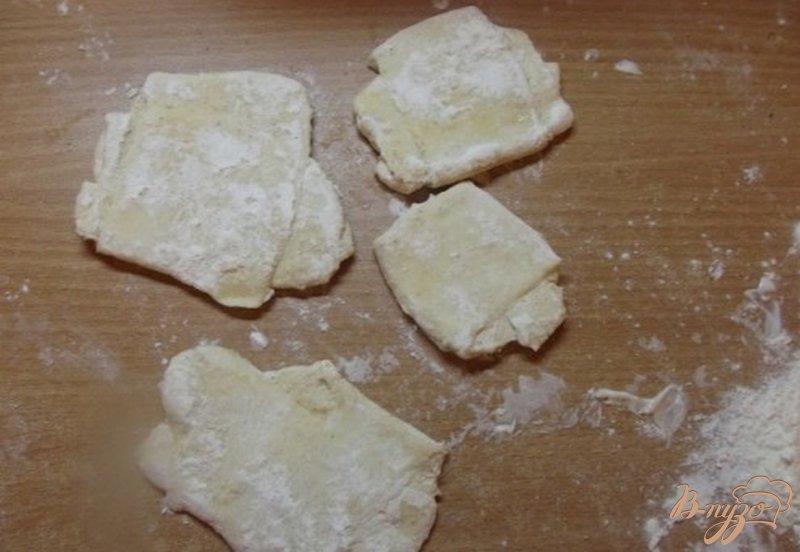 Фото приготовление рецепта: Лепешки на сметане шаг №8