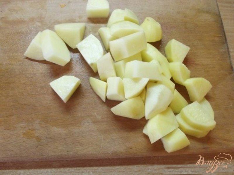 Фото приготовление рецепта: Суп из печени и овощей шаг №1