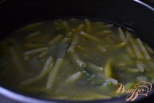 Фото приготовление рецепта: Суп-пюре из желтой фасоли с чечевицей шаг №3