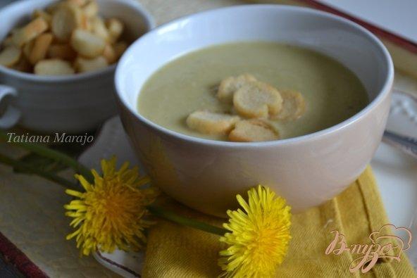 Рецепт Суп-пюре из желтой фасоли с чечевицей