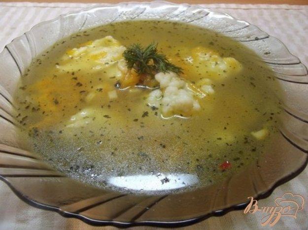 фото рецепта: Суп с клецками
