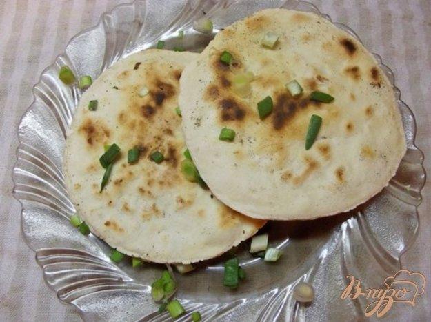 Рецепт Сухие лепешки с зеленым луком