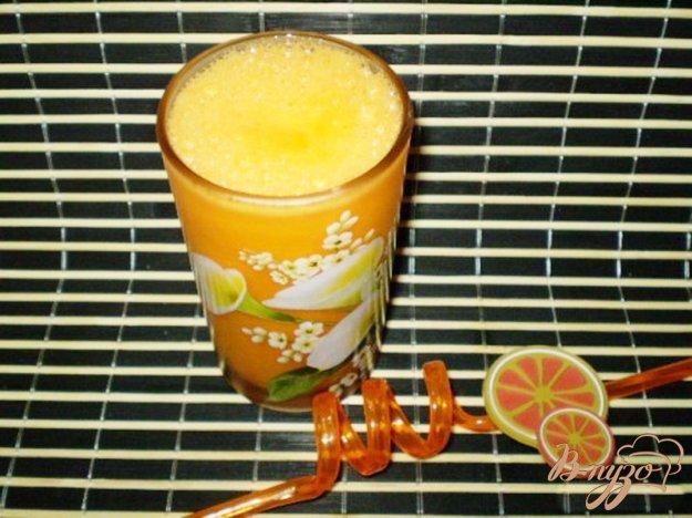 фото рецепта: Сок тыквенно-морковно-апельсиновый