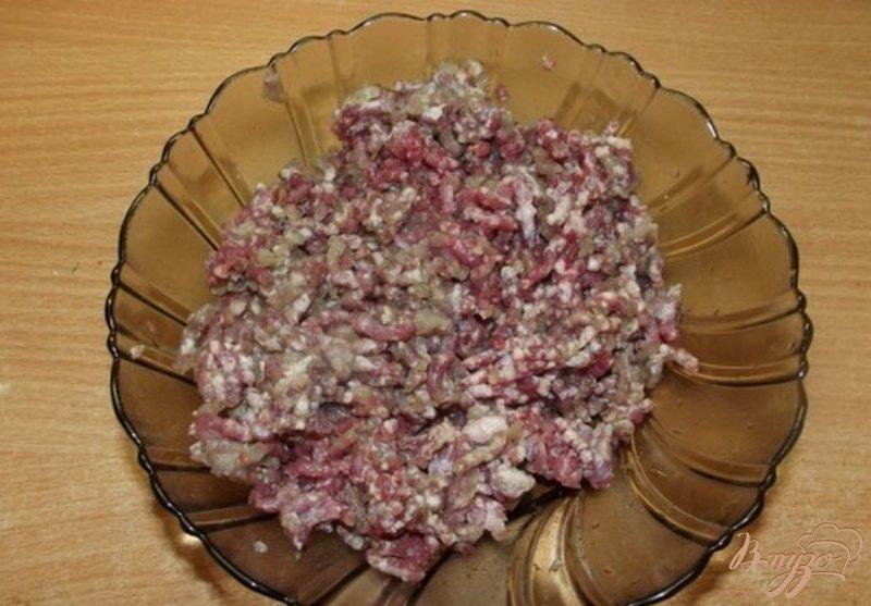 Фото приготовление рецепта: Макароны по-флотски с фасолью шаг №2