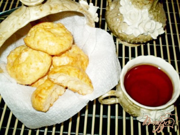 Рецепт Сырное соленое печенье