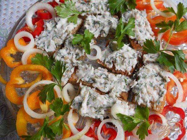 Рецепт Бутерброды с крем-салом