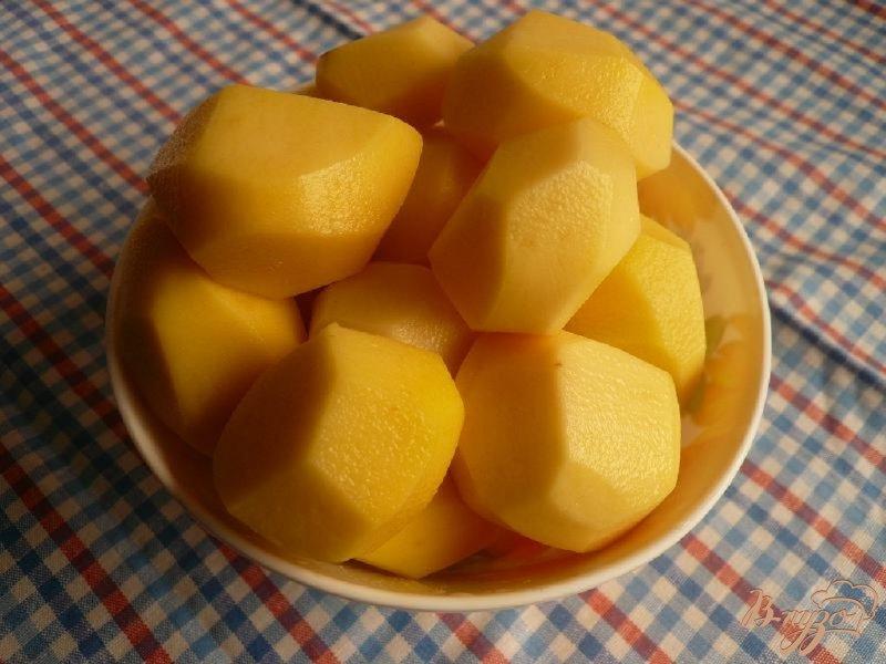 Фото приготовление рецепта: Суп-пюре из грибов и картофеля шаг №4