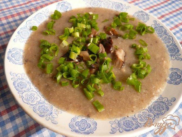 фото рецепта: Суп-пюре из грибов и картофеля
