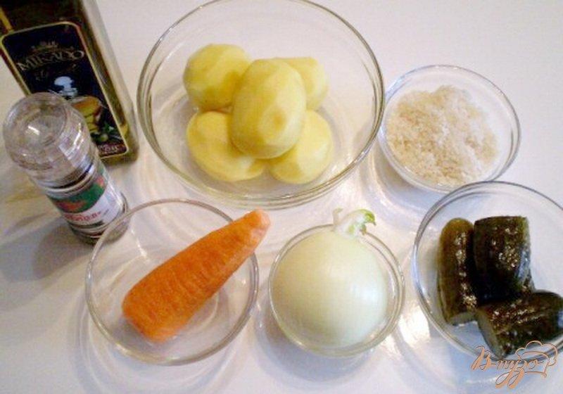 Фото приготовление рецепта: Постный рассольник шаг №1