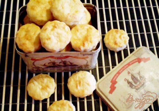 Рецепт Сырное соленое печенье (вариант 2)