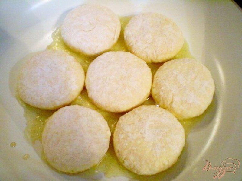 Фото приготовление рецепта: Сырники с тыквой шаг №4