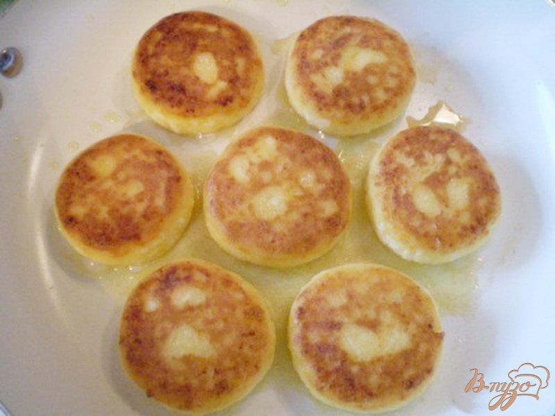 Фото приготовление рецепта: Сырники с тыквой шаг №5