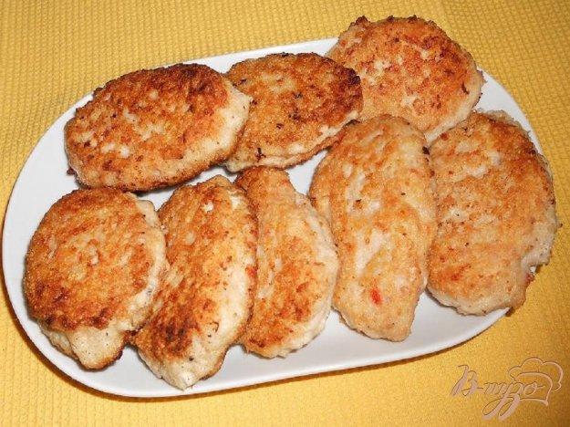 Рецепт Котлеты куриные с помидором