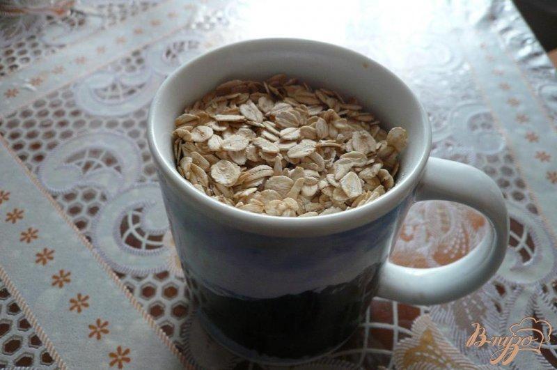 Фото приготовление рецепта: Овсяный коржик к чаю шаг №1