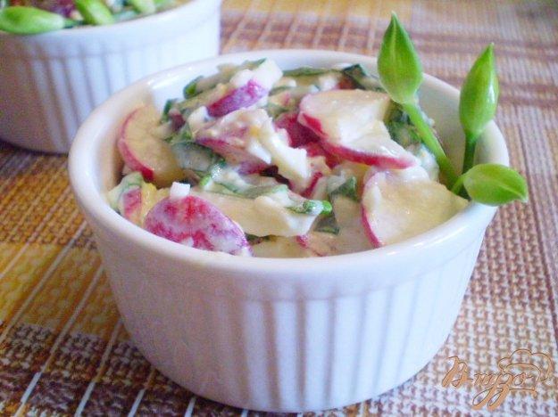 Рецепт Салат весенний с черемшой