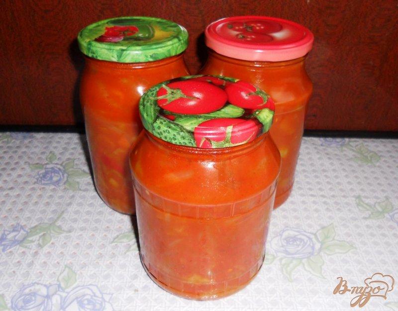 Фото приготовление рецепта: Лечо домашнее на зиму шаг №5